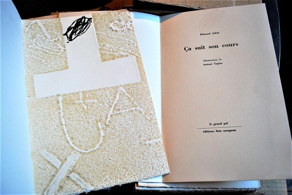 Illustrated Book Tàpies - Ça Suit Son Cours.
