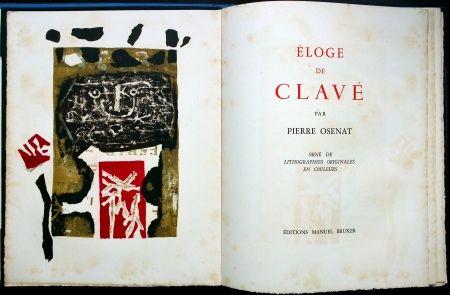 Illustrated Book Clavé - Éloge De Clavé