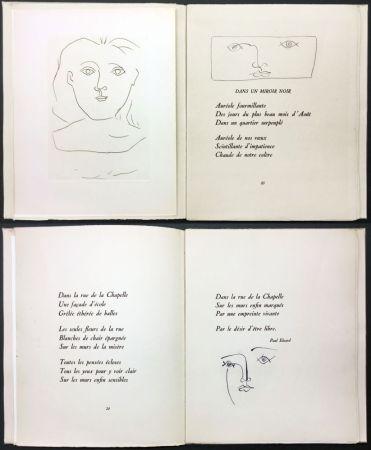 Illustrated Book Picasso - Éluard, Colette, Valéry : JOURS DE GLOIRE (1945).