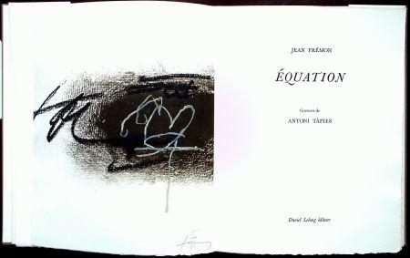 Illustrated Book Tàpies - Équation