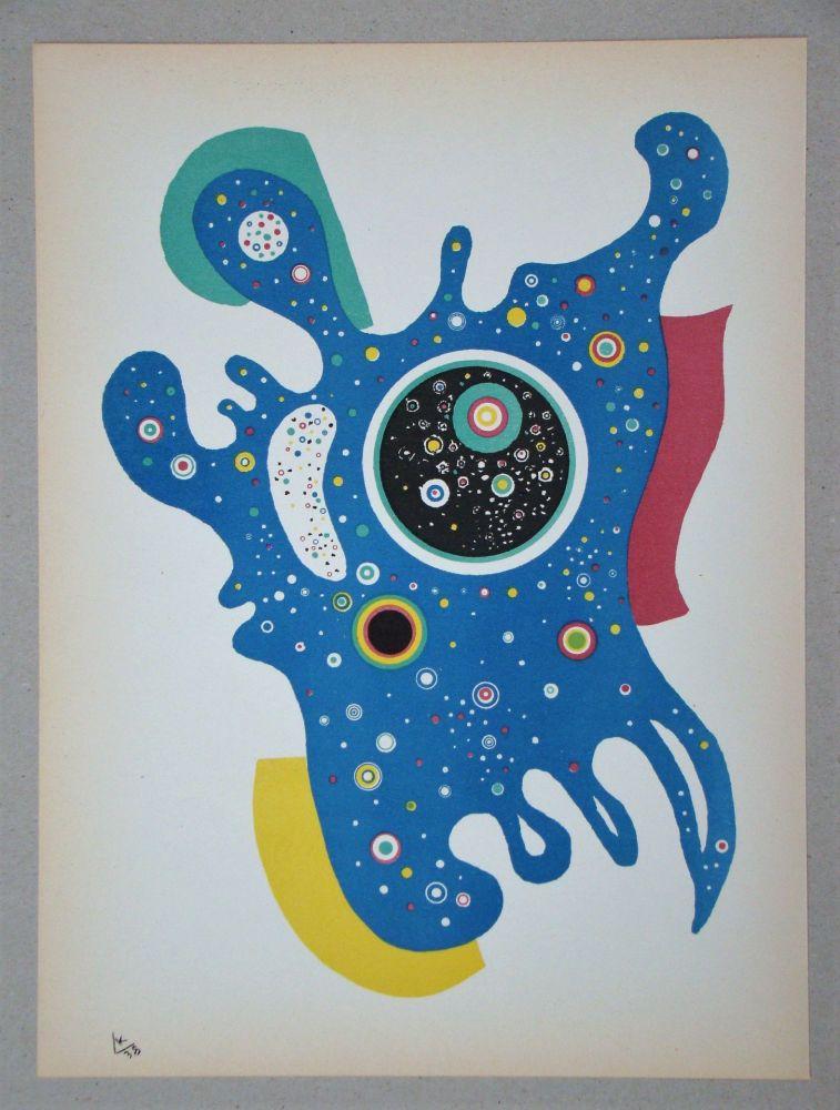 Lithograph Kandinsky - Étoiles