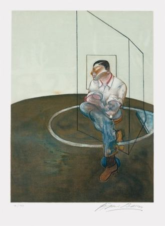 Lithograph Bacon - Étude pour un portrait de John Edwards