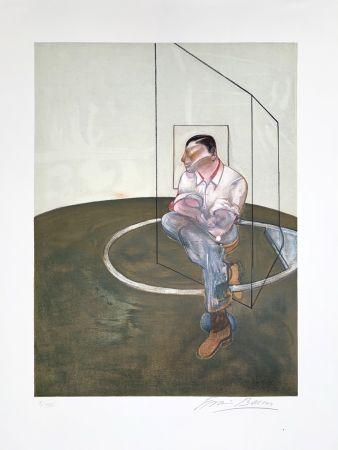 Lithograph Bacon - Étude pour un portrait de John Edwards, 1987