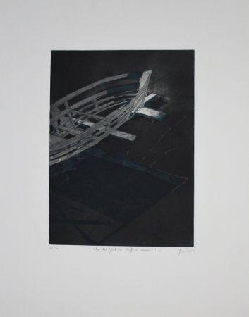 Etching And Aquatint Tuma - Über das Glück ein Schiff zu Wasser zu Lassen