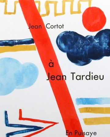 Illustrated Book Cortot - à Jean Tardieu,