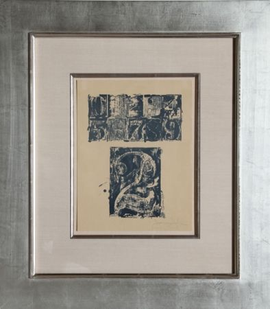 Lithograph Johns - 0-9, Number 2