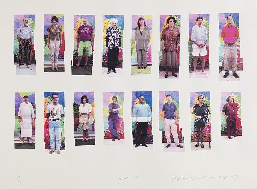 Photography Hockney -  112 L A Visitors - page 3 of Portfolio
