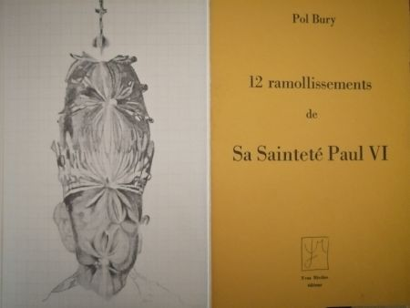 Illustrated Book Bury - 12 ramollissements de sa Sainteté Paul VI