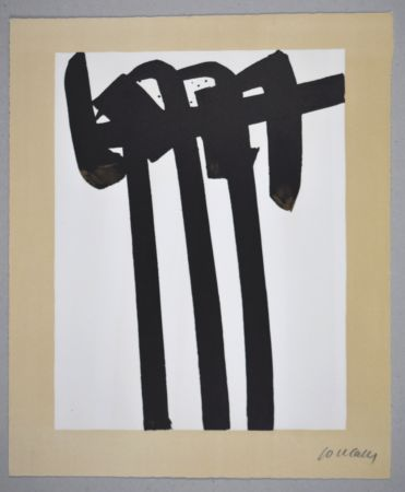 Lithograph Soulages - 14 500 €