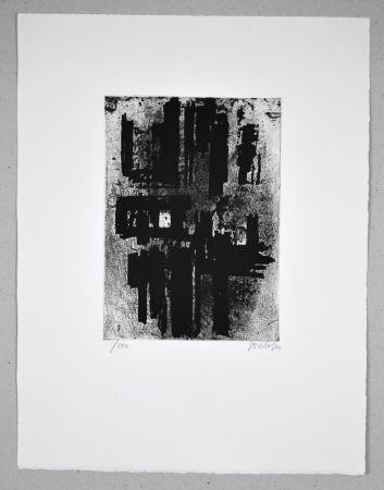 Engraving Soulages - 14 500 €