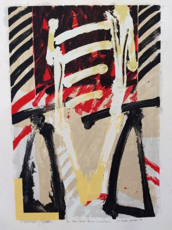 Lithograph Titus Carmel - 18/125