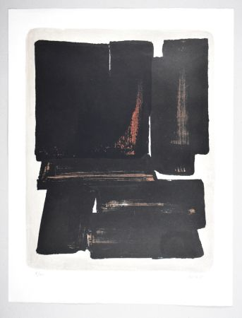 Lithograph Soulages - 19 000 €