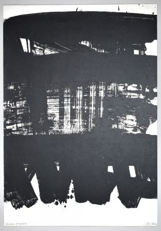 Lithograph Soulages - 19 500 €