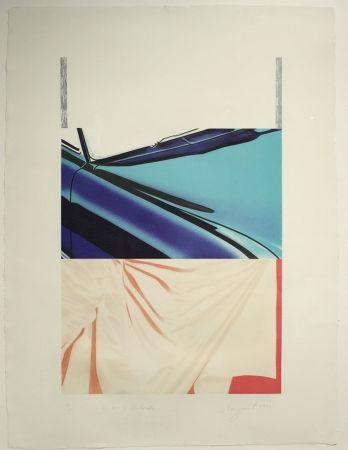 Screenprint Rosenquist - 1, 2, 3 Outside