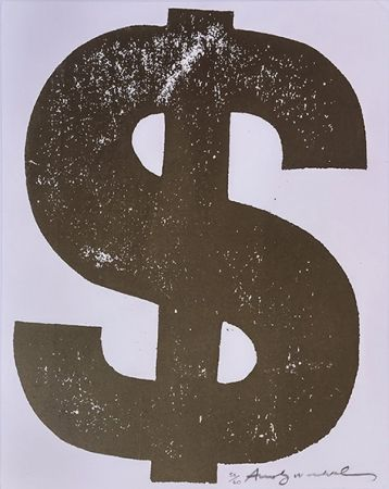 Screenprint Warhol - $(1) FS II.277