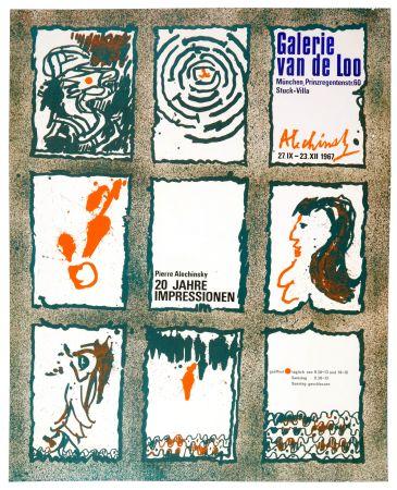 Poster Alechinsky - 20 Jare Impressionen 1967