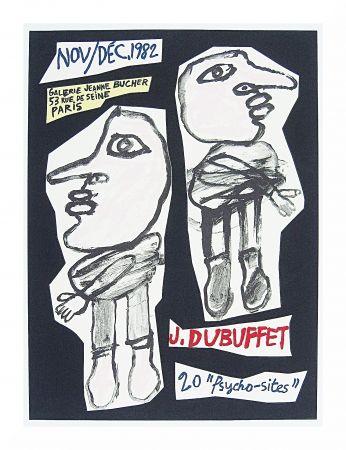 Lithograph Dubuffet - 20