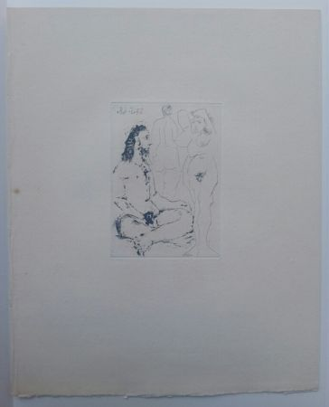 Aquatint Picasso - 27 May 1968  - La Celestina - La Célestine