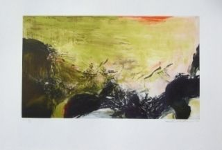 Etching And Aquatint Zao - 302 A