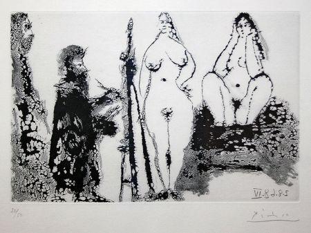 Aquatint Picasso - 347 SERIES (BLOCH 1715)