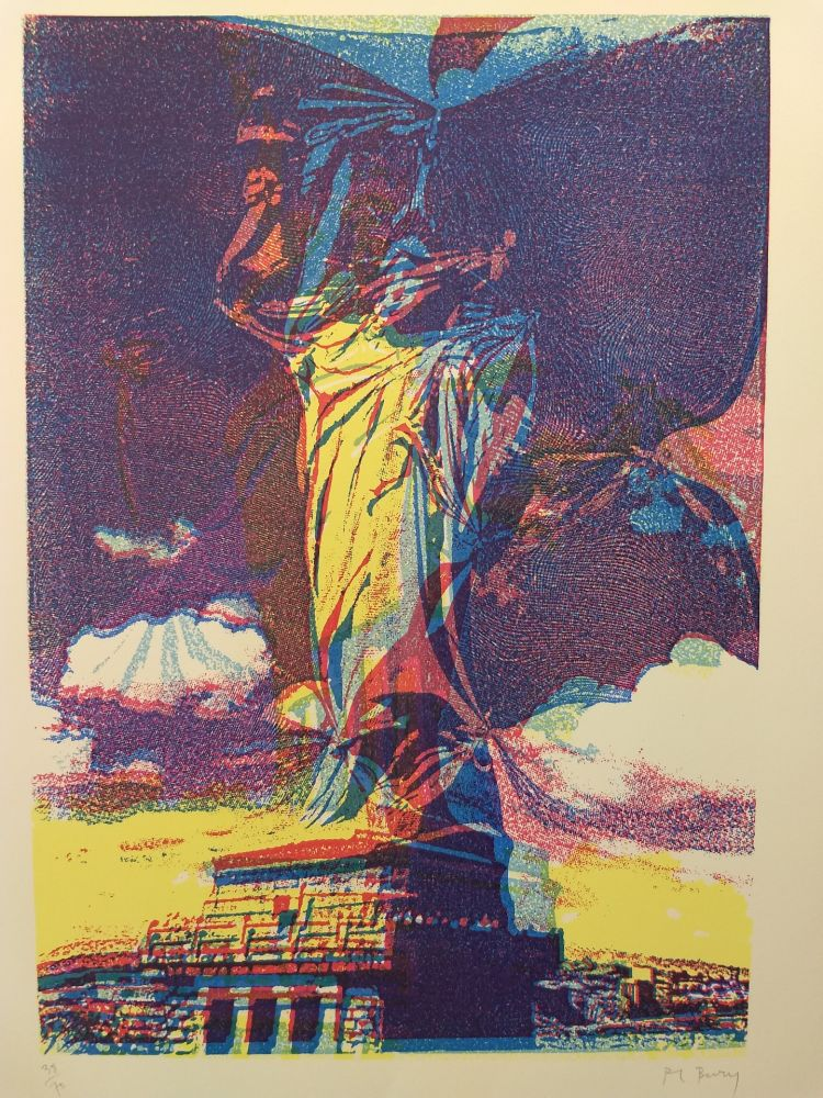 Lithograph Bury - 38/70