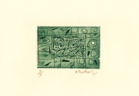 Engraving Alechinsky - 3 petites plaques