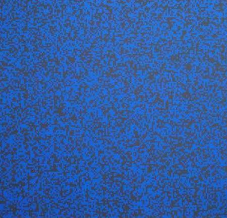 Screenprint Morellet - 40 000 carrés