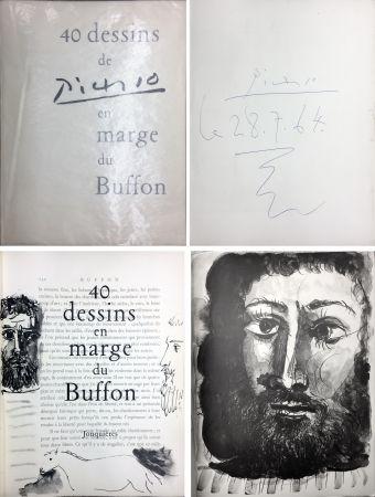Illustrated Book Picasso - 40 DESSINS DE PICASSO EN MARGE DU BUFFON. Exemplaire signé et daté par Picasso…