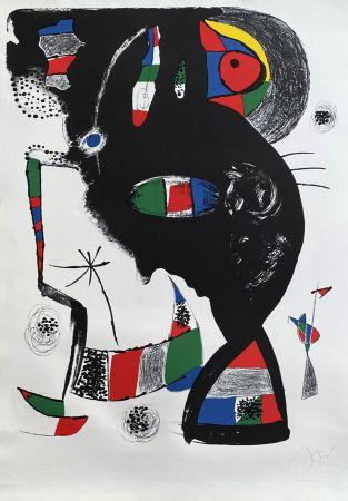 Lithograph Miró - 42 rue Blomet