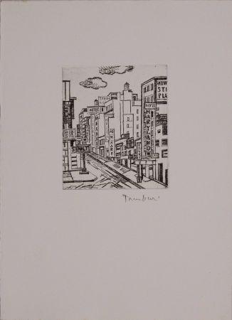 Engraving Tamburi - 47 strada