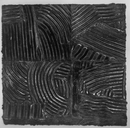 Collograph Gilliam - 4 Plates