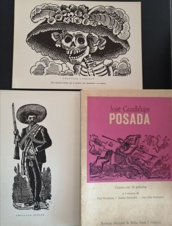 Illustrated Book Posada - 50 aniversario de su muerte