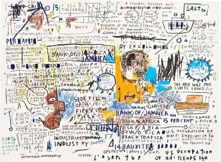 Screenprint Basquiat - 50 Cent Piece