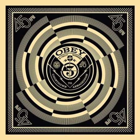 Screenprint Fairey - 50 Shades of Black Box Set: Countdown to Armageddon