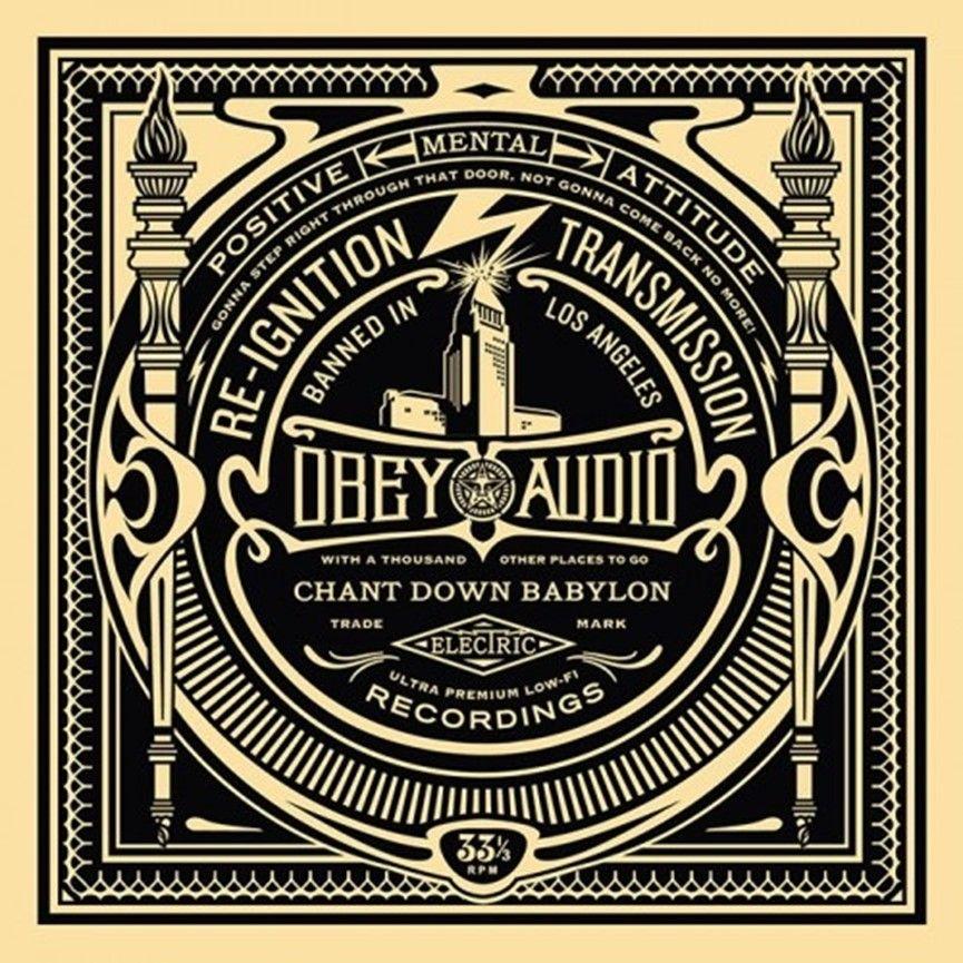 Screenprint Fairey - 50 Shades of Black Box Set: Reignition Transmission