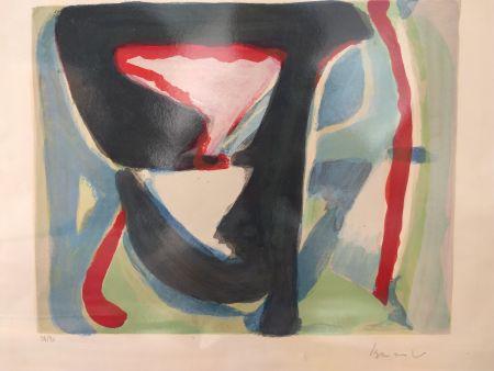 Lithograph Van Velde - 57/90