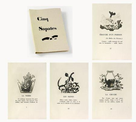 Illustrated Book Braque - 5 sapates
