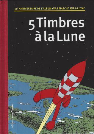 Illustrated Book Rémi - 5 Timbres à la Lune (Belgique)