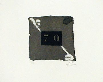 Engraving Tàpies - 70