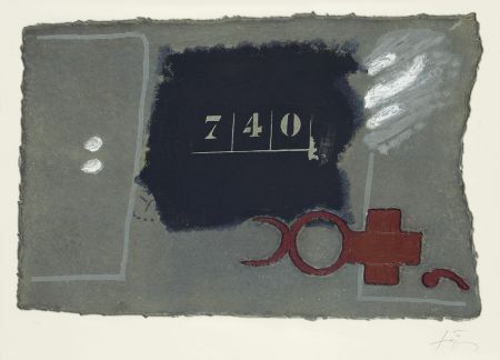 Engraving Tàpies - 740