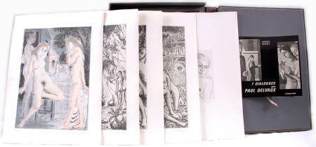 Illustrated Book Delvaux - 7 dialogues avec Paul Delvaux