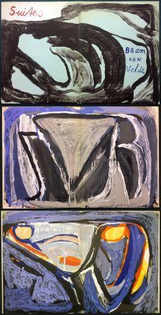 Illustrated Book Van Velde - 7 Lithographies pour le Catalogue Galerie Krugier n°1 (1962)