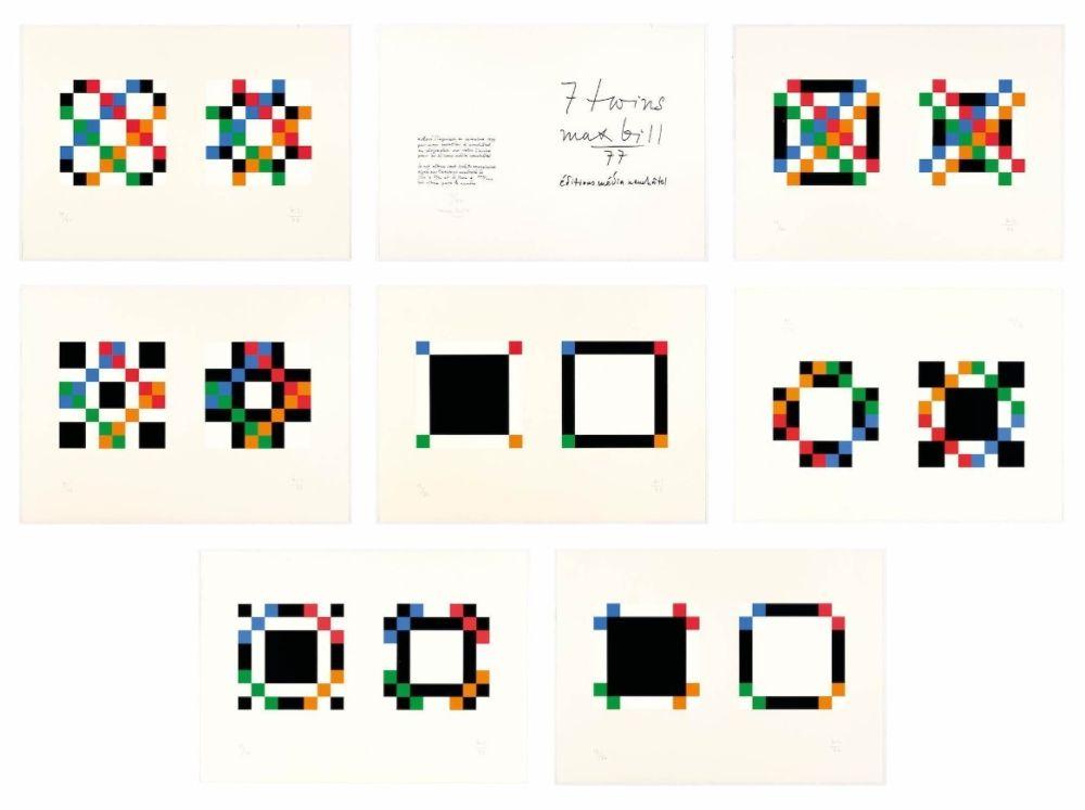 Screenprint Bill - 7 twins - Complete portfolio