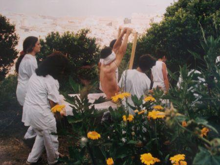 Photography Nitsch - 96 Aktion – Giardini San Martino, Napoli, A