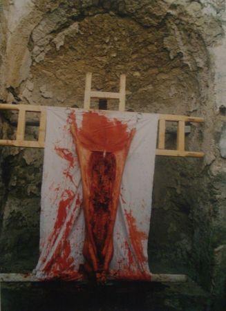 Photography Nitsch - 96 Aktion – Giardini San Martino, Napoli, I