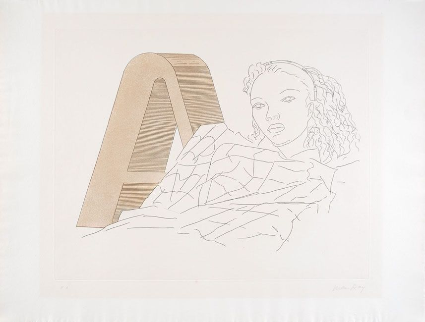 Etching And Aquatint Ray -