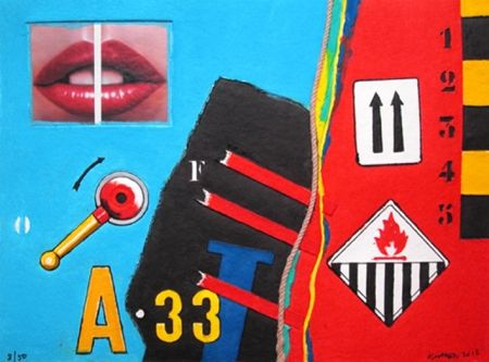 No Technical Klasen - A 33 - Aquagravure de Peter KLASEN