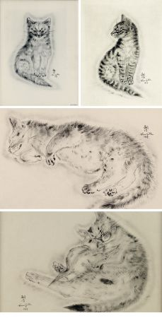 Illustrated Book Foujita - A BOOK OF CATS. being Twenty Drawings by Foujita. New York 1930