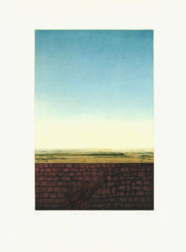 Etching And Aquatint Cox - A Brick Too Many