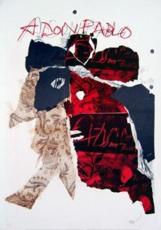 Lithograph Clavé - A Don Pablo I
